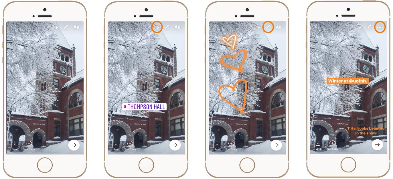 Stories Instagram pour Débutants